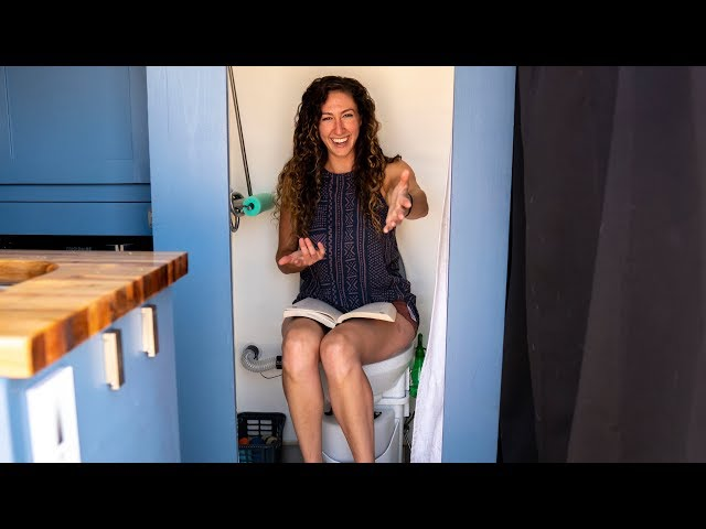 Best Van Life Toilet | Nature's Head Composting Toilet