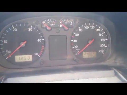 снятие панели приборов VW T4