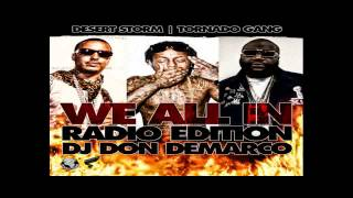 Meek Mill -  Rich & Famous Ft. Louie V - We All In Radio   DJ DonDemarco Mixtape