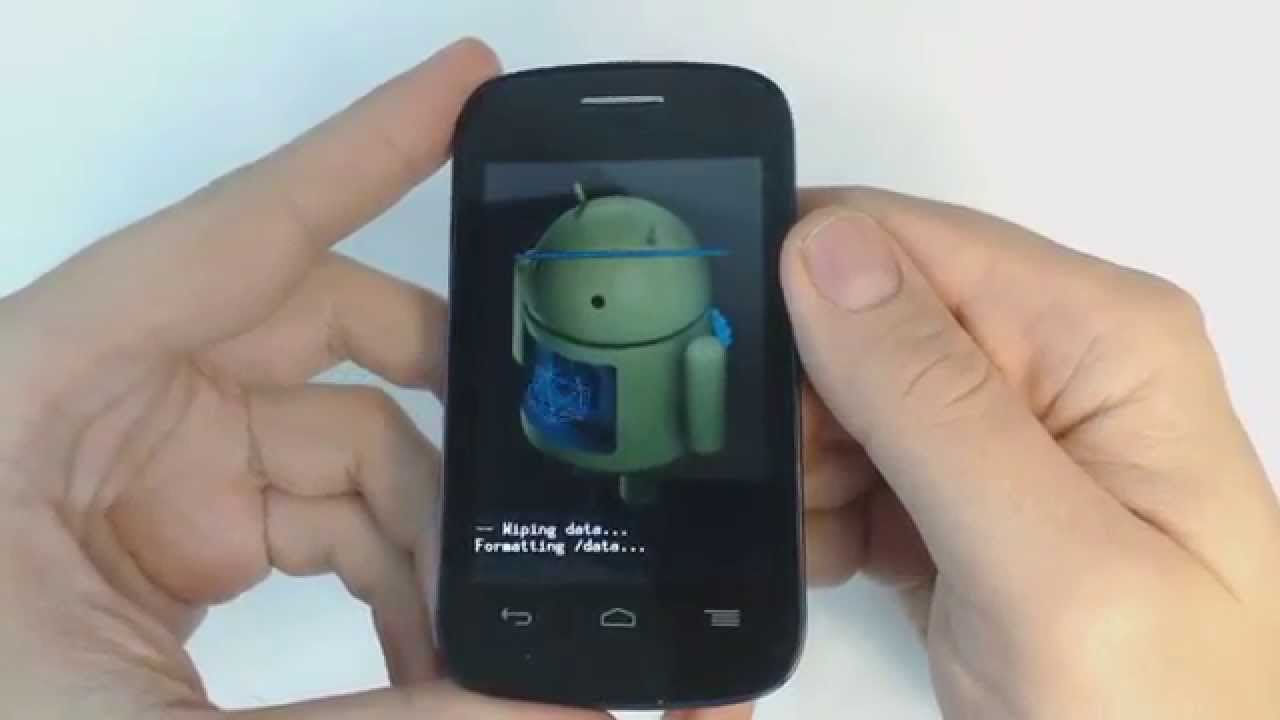 Alcatel One Touch Pop C1 4015x Hard Reset Youtube