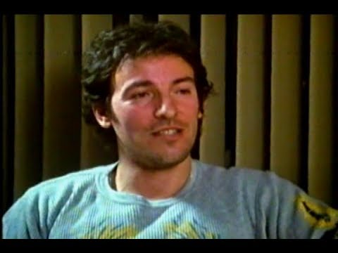 Bruce Springsteen and the E Street Band 1987 interview