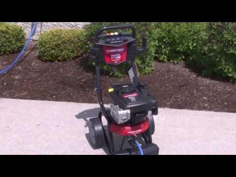 Troy Bilt Pressure Power Washer Starting Problem Issue