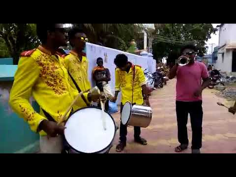 Trumpet Anand,Theri song