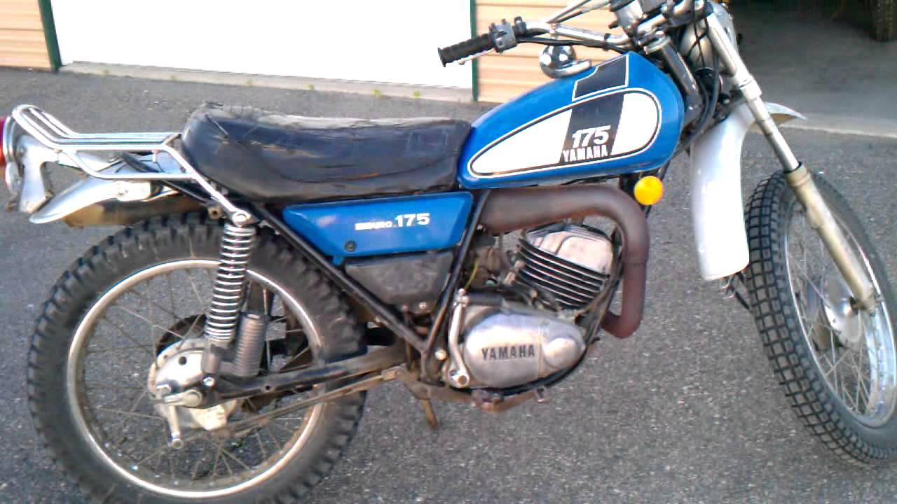maxresdefault 1975 yamaha dt 175 enduro ideling youtube 1975 dt 175 wiring diagram at bayanpartner.co