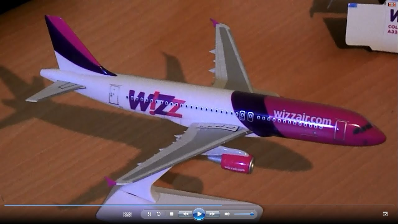 Premier Planes Wizz Air Airbus A320 200 1 200 Review Youtube