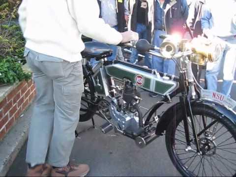1912 NSU Motorcycle