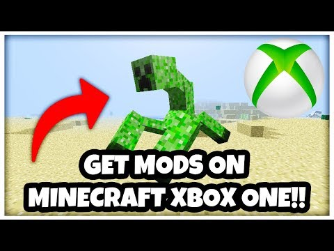 How To Get *FREE MODS* On Minecraft Xbox One!
