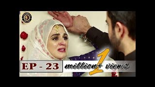 Sun yaara - Episode 23 - 5th June 2017 Junaid Khan & Hira Mani - Top Pakistani Dramas