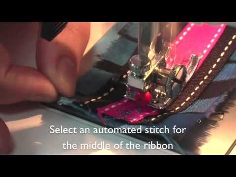 Creative Textiles - Textile Crafts With Ribbon - Colouricious