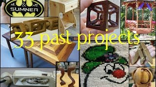 33 Of My Past Woodworking Projects #1