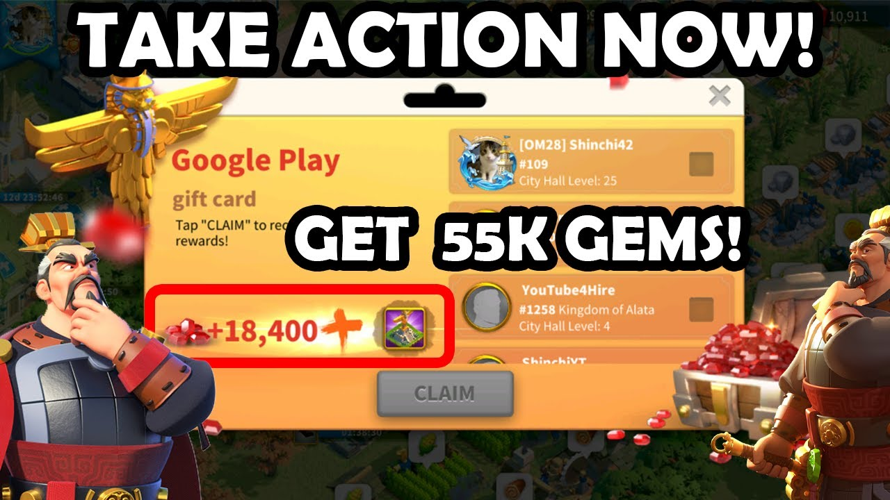 Get Free Gems Package 3x Without Spending In Game New Structure Quinx Rise Of Kingdoms Youtube