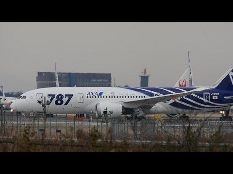 [D7100] ANA Boeing 787 Dreamliner Take-off RWY34L!!成田空港