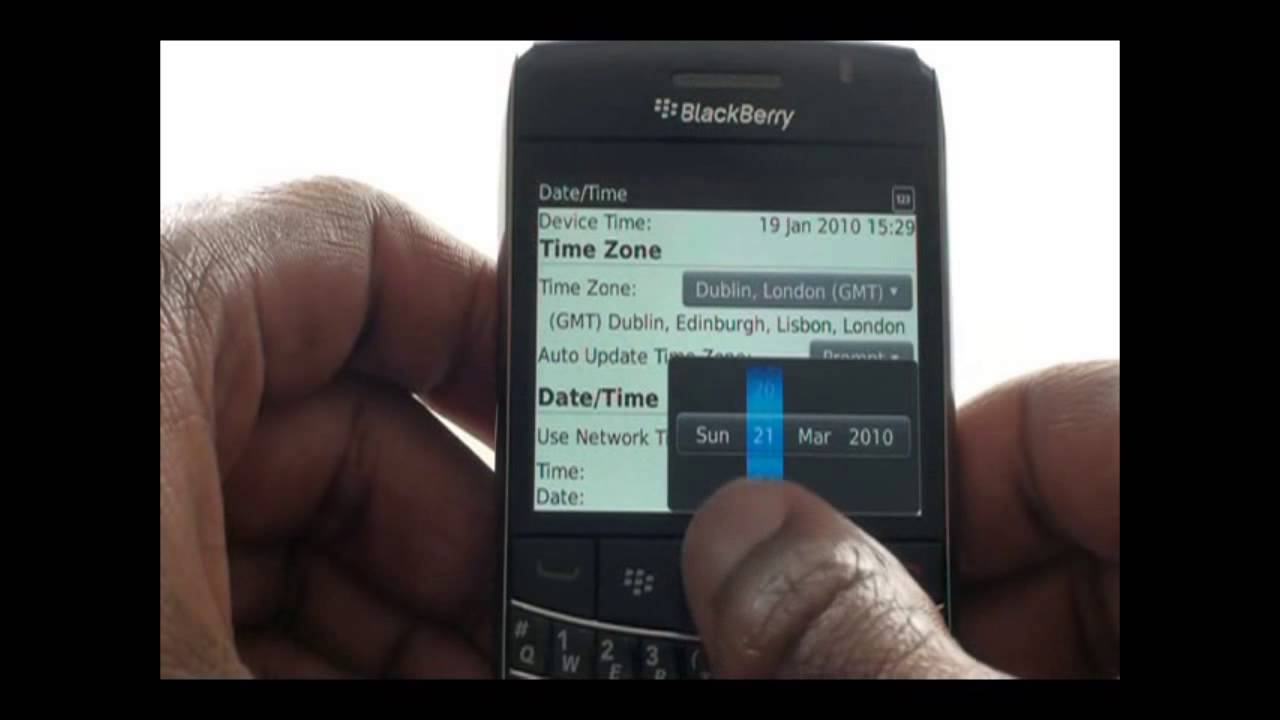 How to copy SIM contacts to your BlackBerry Bold 9700 | The Human Manual