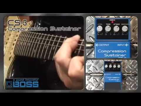 Boss CS-3 Compressor Sustainer Pedal - PMT