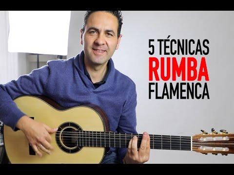 5 Técnicas para tocar RUMBA FLAMENCA (Jerónimo de Carmen TUTORIAL)