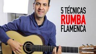 5 tcnicas para tocar rumba flamenca (jernimo de carmen tutorial) guitarraflamenca