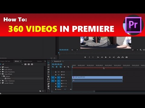 How To: Edit 360 Videos in Adobe Premiere Pro & Upload to YouTube Mp3