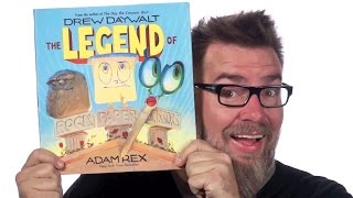 Meet the Characters of THE LEGEND OF ROCK PAPER SCISSORS with Drew Daywalt!