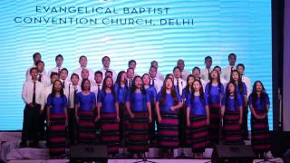 EBC @ 3rd North East India Choral Singing Competition 2014