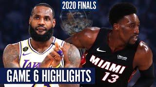 LAKERS vs HEAT GAME 6 - Full Highlights | 2020 NBA Finals