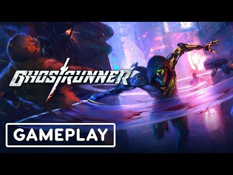 Ghostrunner Gameplay | gamescom 2020