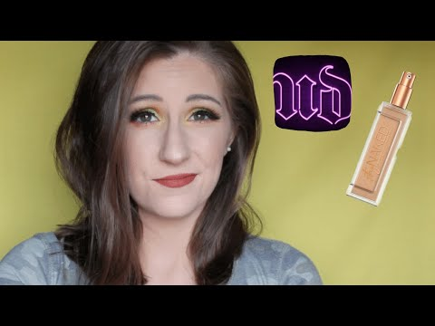 NEW URBAN DECAY STAY NAKED FOUNDATION - FIRST IMPRESSION & WEAR TEST! | KELLIE NICOLE thumbnail