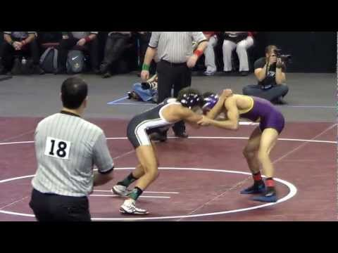 Zahid Valencia Loses at 2013 CIF Wrestling Semi-Finals