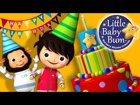 Happy Birthday Song | Original Song by LittleBabyBum!