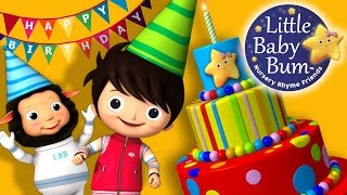 Happy Birthday Song | Original Song by LittleBabyBum