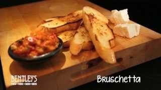 Bentleys Bar Inn Restaurant: Bruschetta