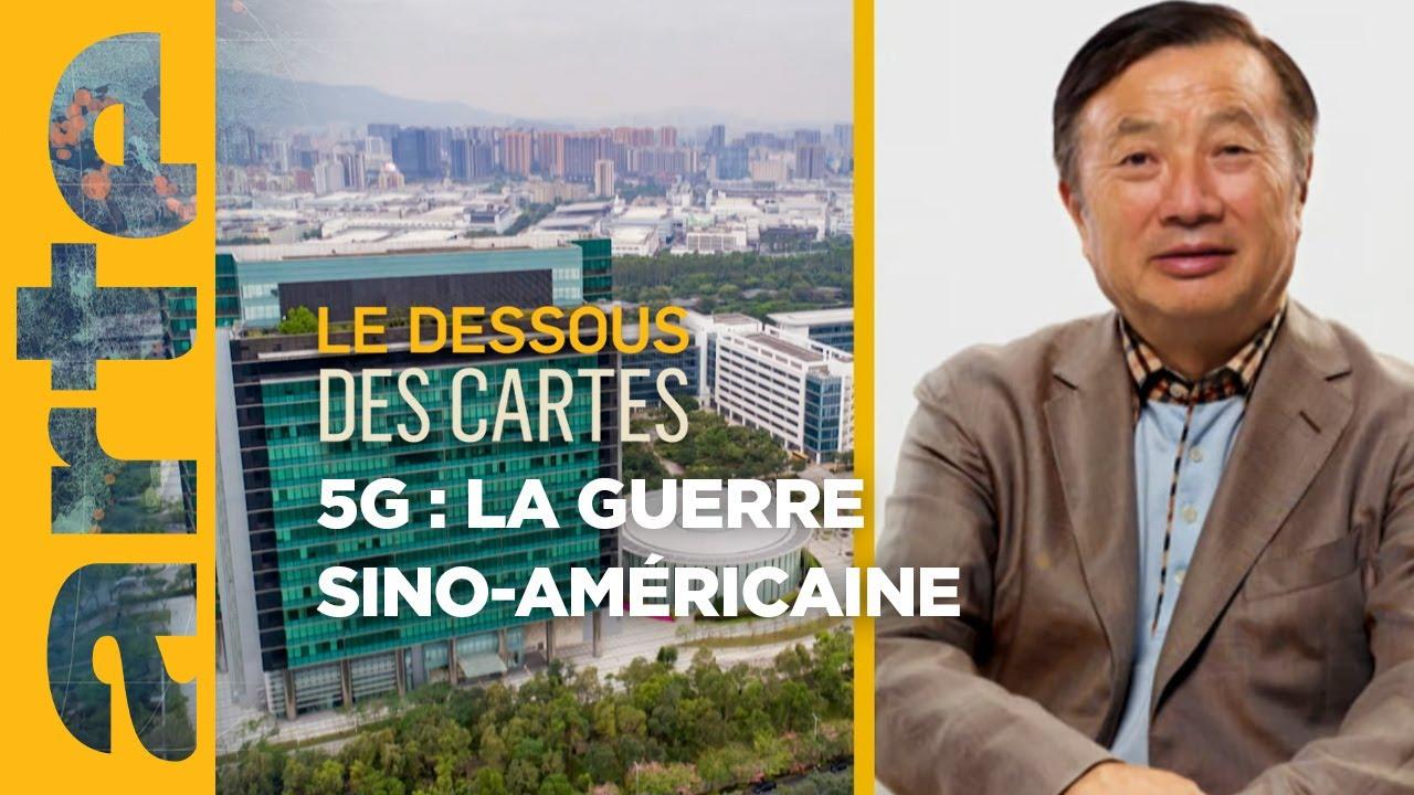 5G : une guerre froide sino-américaine - Le Dessous des cartes | ARTE