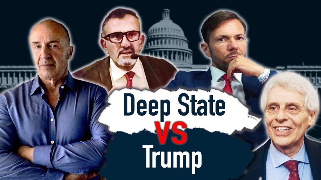 La Guerra Mediatica del Deep State contro Trump - Intervista a G. Lombardi, G. Sciorilli, R. Marini