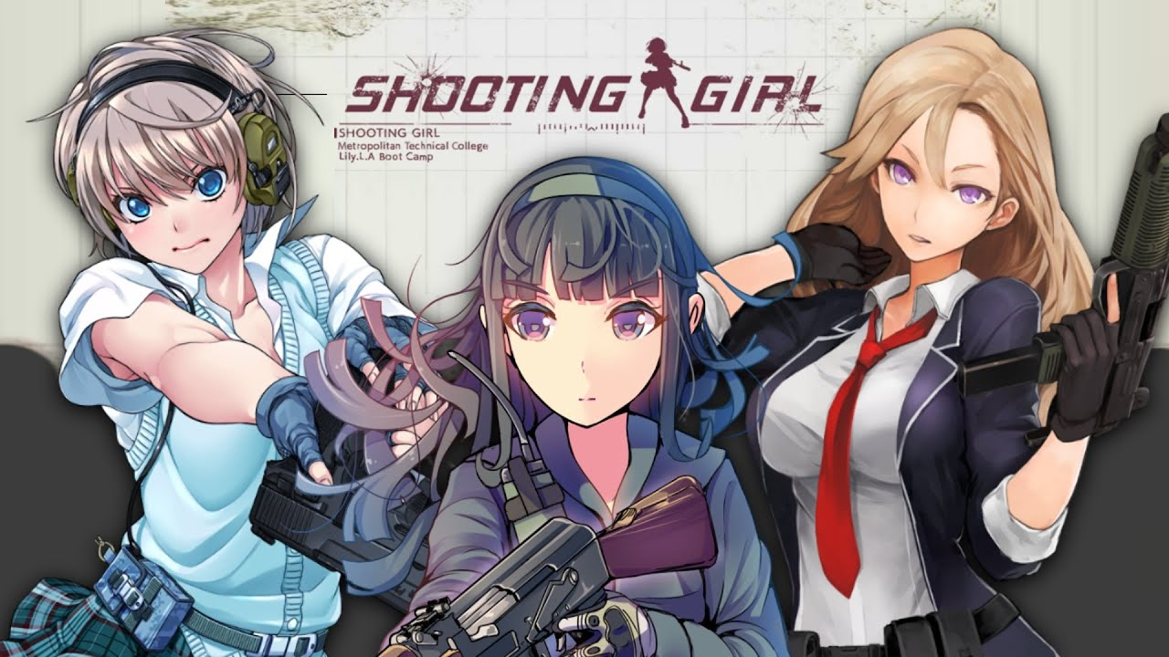 Gamer Girl Wallpaper Anime Shooting Girl Gameplay Nutaku Simulation Youtube