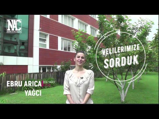 OKULUMUZU VELİLERİMİZE SORDUK / Namık Altaş Koleji / EBRU ARICA YAĞCI