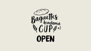Baguette Kendama Cup #2 Open Tricklist