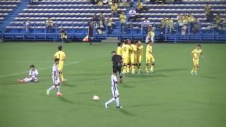 2017年6月21日 天皇杯 柏 1-0 浦安 56分 ハモン・ロペスのゴールシーン。