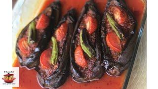 Hafif ve lezzetli Fırında karnıyarık tarifi ♨️ Ev Lezzetleri ♨️ Yemek Tarifleri