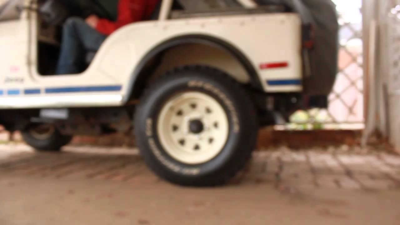 79 jeep cj5 304 v8 flowmaster 40 delta flows [ 1280 x 720 Pixel ]