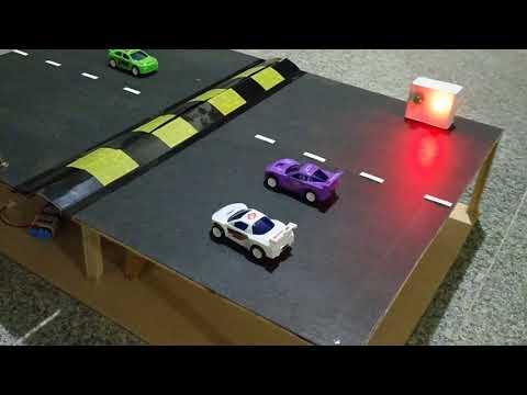 Advanced speed breaker - working model