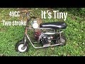 rebuilding the mini mini bike