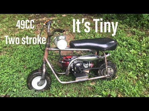 rebuilding the mini mini bike