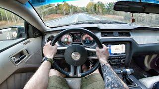2009 Ford Mustang 4.0 AT - POV TEST Drive / Тест драйв от первого лица