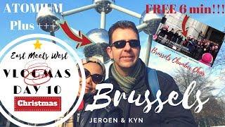 🎄 VLOGMAS Day 1️⃣0️⃣ | Visiting ATOMIUM | FREE Serenade from BRUSSELS CHAMBER CHOIR | 🇧🇪 Belgium