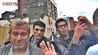 CheekySport banter Vin Diesel, Harry Kane, Abramovich + more at White Hart Lane and Stamford Bridge