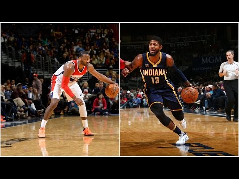 John Wall 36 Points vs Paul George 34 Points | 12.28.16