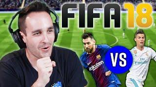 We Settle The Barcelona Vs  Real Madrid Rivalry • FIFA 18