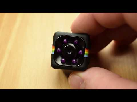 "SQ11 mini FULL HD DV camera review! Yay or nay? Unboxing and ""How to use"" instructions"