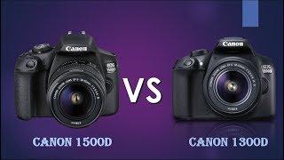 Canon 1500D vs Canon 1300D | Canon T7 vs Canon T6 |