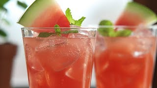How to Make: Watermelon Juleps