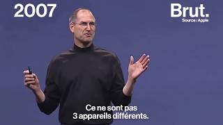 Quand Steve Jobs présentait le premier iPhone
